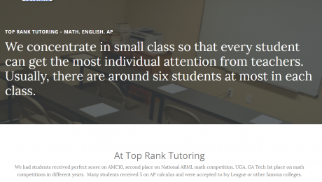 Top Rank Tutoring