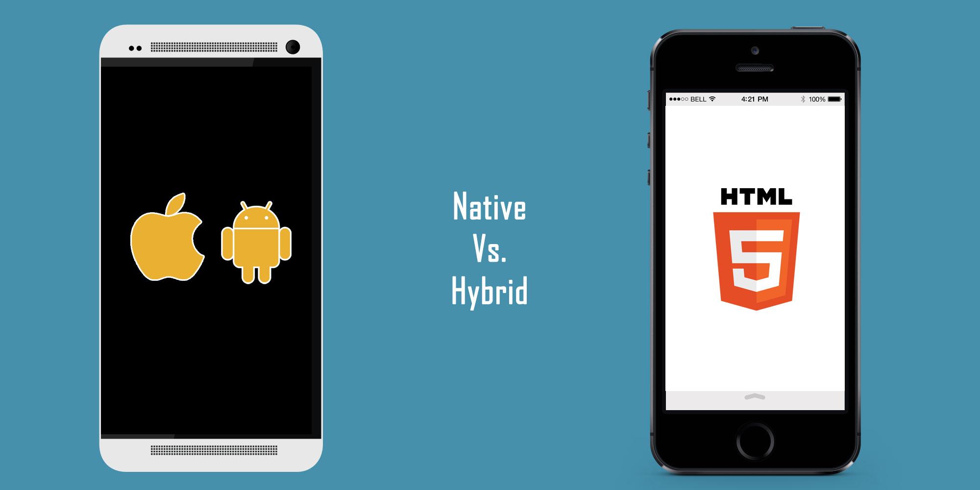 Hybrid vs Native Mobile App. Decide in 5 minutes! | Professional ...